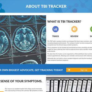 about traumatic brain injury tracker
